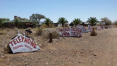 Tsauchab River Camp - Signs