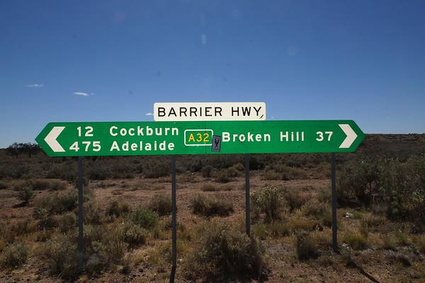 37 km to Broken Hill