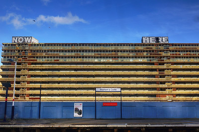Elephant and Castle Station View - 2013