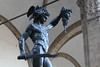 Statue of Perseus w Head of Medusa in Piazza Della Signorio, Florence Italy