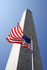 Flag at Washington Monument, Washington DC
