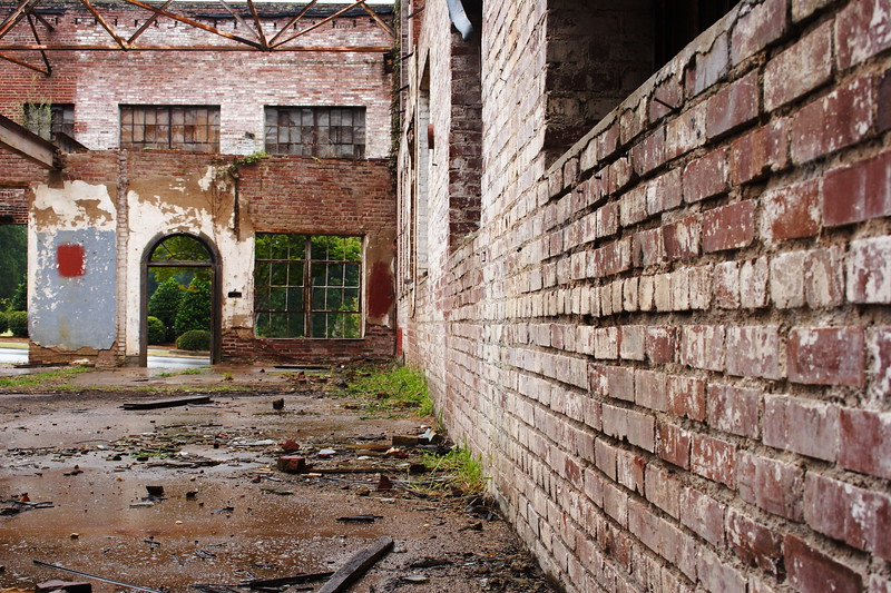 Abandoned Downtown Building, Statesville NC