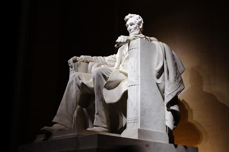 Lincoln Memorial Statue, Washington DC