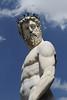 Neptune Statue in Piazza Della Signorio, Florence Italy