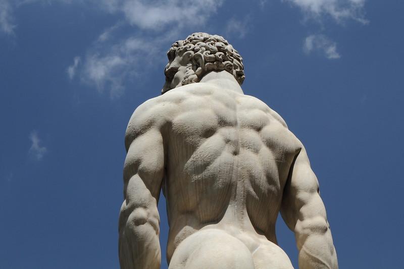 Hercules Statue in Piazza Della Signorio, Florence Italy