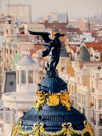 Angel over Spain