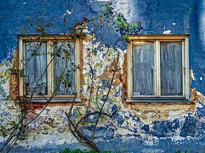 Óleo de una ventana