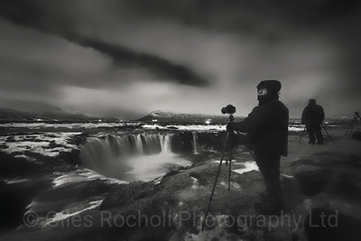 Watching out for the Northern Lights, Iceland Photo Tour February 2017