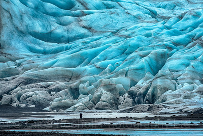 Fláajökull, Glacier, Iceland Photo Tour February 2017