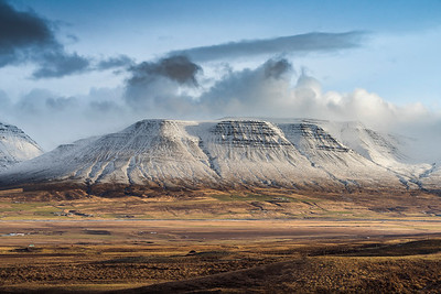 Trollaskagi mountains, North Iceland Photo Tour February 2017