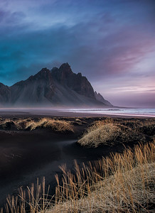 Sunrise over Vestrahorn, Iceland Photo Tour February 2017