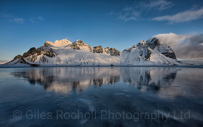 Morning light at Vestrahorn, Iceland