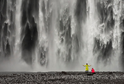 Spirits of Skogafoss, Iceland Photo Tour February 2017