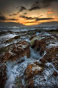 Views from Oxararfoss, Thingvellir National Park, Iceland.