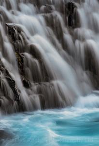 Beautiful Bruarfoss waterfalls, Iceland Photo Tour February 2017