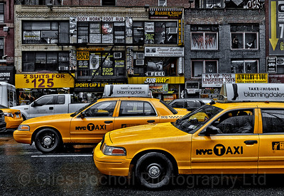 Yellow Cab, NEW YORK CITY September 2011