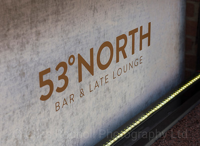 53 degrees North, Sign, Leeds West Yorkshire, United Kingdom.