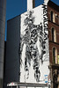 Metal Gear graffitti, Aireside House, Leeds West Yorkshire, United Kingdom.