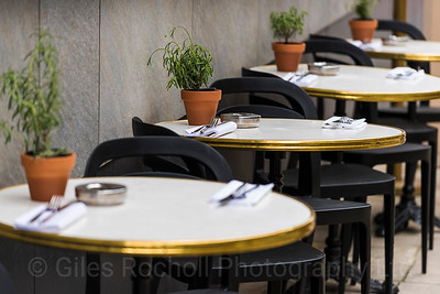 Tables, Diner,Greek Street, Bar, Bem Brasil,Leeds West Yorkshire, United Kingdom.
