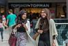 Shoppers, Shopping,Trinity Shopping Centre, Leeds West Yorkshire, United Kingdom.