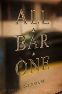 All Bar One, Bar, Restaurant, Leeds West Yorkshire, United Kingdom.