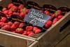 Dutch strwaberries, Horsforth, Town Street, Leeds West Yorkshire, United Kingdom.