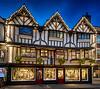 Kathe Wohlfahrt, Christmas Shop Stonegate, York, North Yorkshire, United Kingdom. Old shop, traditional. Xmas.