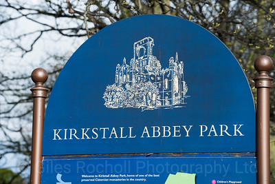 Kirkstall Abbey, Leeds West Yorkshire, United Kingdom.