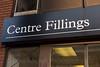 Shop front Centre Fillings, Leeds West Yorkshire, United Kingdom.