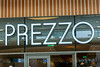 Prezzo, The White Rose Shopping Cente, Leeds West Yorkshire, United Kingdom.