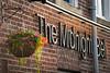 The Minight Bell Pub sign, Leeds West Yorkshire, United Kingdom.