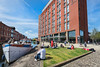 Double Tree, Granary Wharf, Canal Side, Leeds West Yorkshire, United Kingdom.