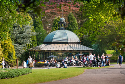 The Magnesia Well Cafe, Valley Gardens, Harrogate, North Yorkshire, United Kingdom