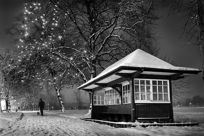 Yorkshire Landscapes, Harrogate, Snow scenes.