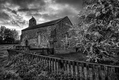 St Mary's Church, Lead, North Yorkshire. Hawthorn, Yorkshire; United Kingdom; scenic; scenery; travel; explore; photography; landscape; beauty; love; Giles Rocholl; art; print; prints