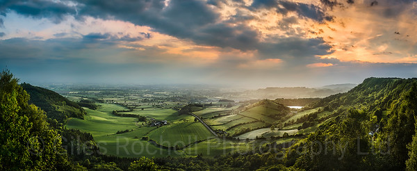 View from Sutton Bank, North Yorkshire, United Kingdom. May 31st 2017