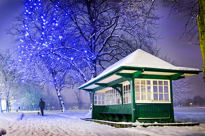 Yorkshire Landscapes, Harrogate, Snow scenes.