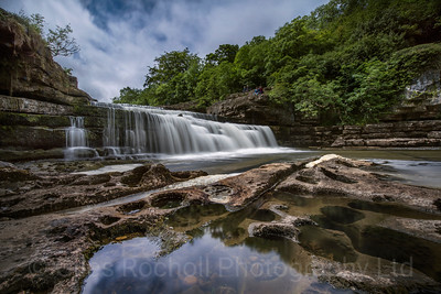 Yorkshire Landscapes, Aysgarth falls.
