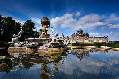 Yorkshire Landscapes, Castle Howard, North Yorkshire.