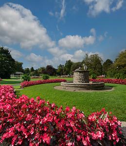 Valley Gardens Harrogate, North Yorkshire.