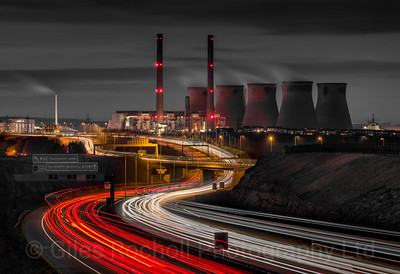 Ferrybridge Power Station March 14th 2016