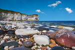 Flamborough Head beach, North Yorkshire. August 12th 2015