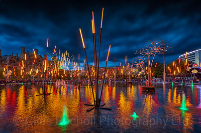 The Forest of Light, Mirror Pool Bradford.