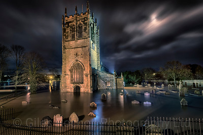 Yorkshire Landscapes,Tadcaster flooding.