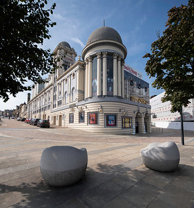 The Alhambra, Theatre, Bradford; City Centte; Yorkshire; West Yorkshire; Buildings; City Centre