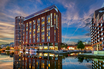 Double Tree by Hilton Hotel, Granary Wharf, Leeds, West Yorkshire, United Kingdom.