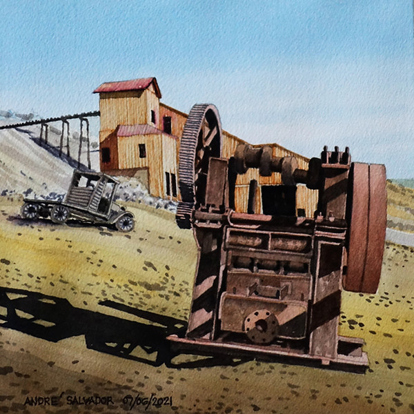 BERLIN HISTORIC DISTRICT, NEVADA