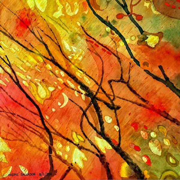SUNLIGHT MAGIC UNDER A TREE