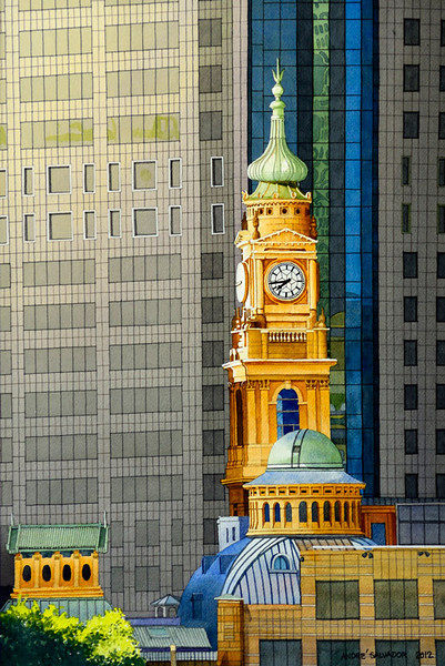 SYDNEY CLOCK TOWER