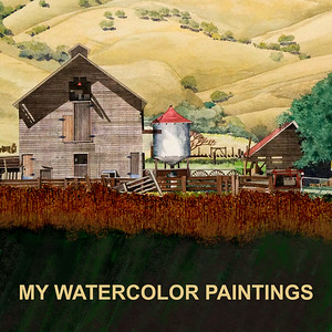 MY WATERCOLOR PAINTINGS, DRAWINGS & ARCHITECTURAL ILLUSTRATIONS